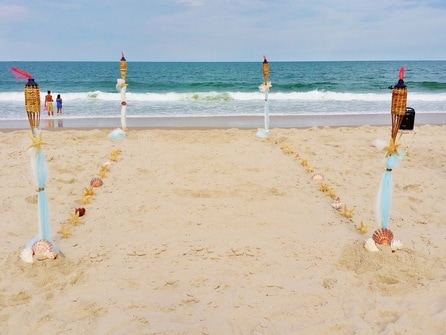 NJ Wedding Officiant Andrea Purtell Seaside Ceremonies at The Jersey Shore