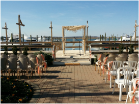 NJ Wedding Officiant weddings at the Jersey Shore