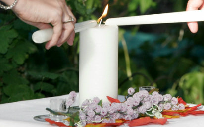 Unity Candle Ceremony New Jersey Wedding Officiant Nj